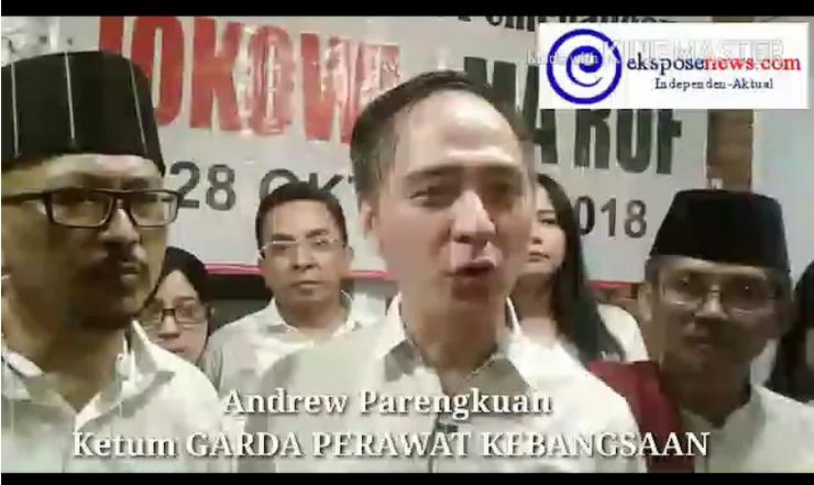 Relawan Garda Perawat Kebangsaan Deklarasi Dukungan Pemenangan Jokowi-Ma'ruf Amin