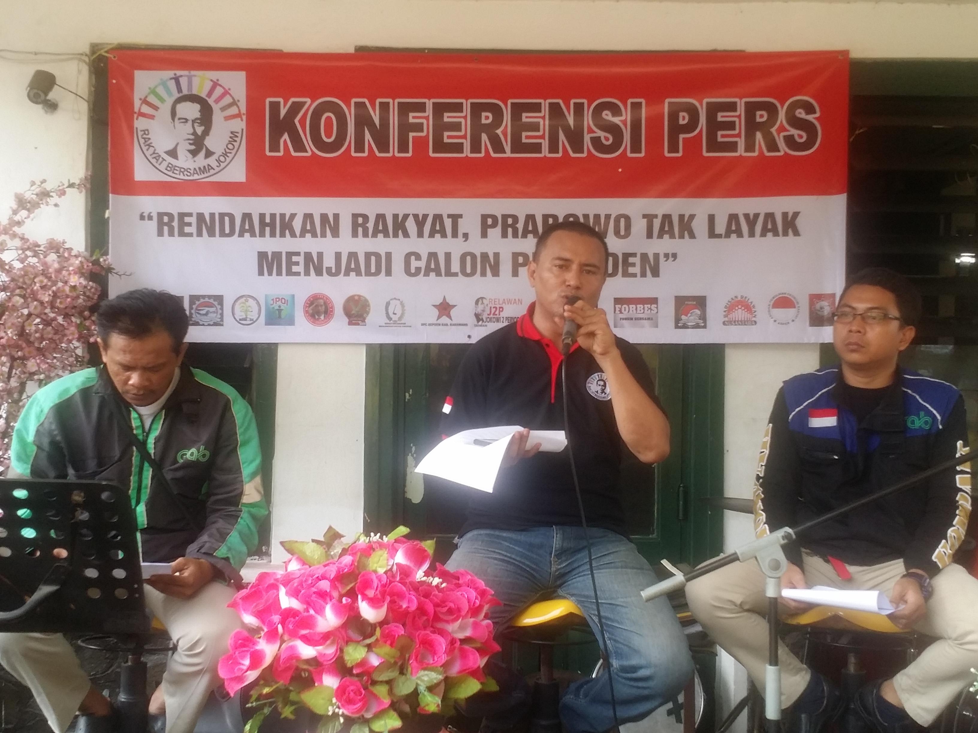 JPOI Minta Prabowo Stop Merendahkan Ojek Online.