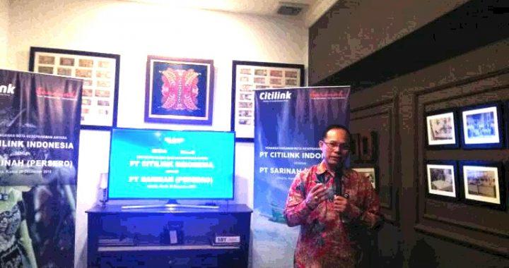 Citilink Indonesia Menjalin Kerjasama Dengan PT. Sarinah (Perseroan)