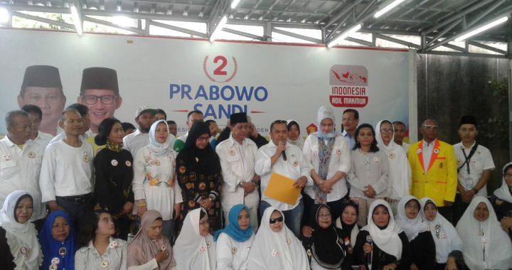 Forsats Deklarasikan Diri  Dukung Prabowo -Sandi Pada Pilpres 2019