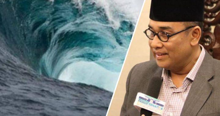 Andi Surya Himbau Warga Lampung Menjauhi Pantai Pesisir Selat Sunda