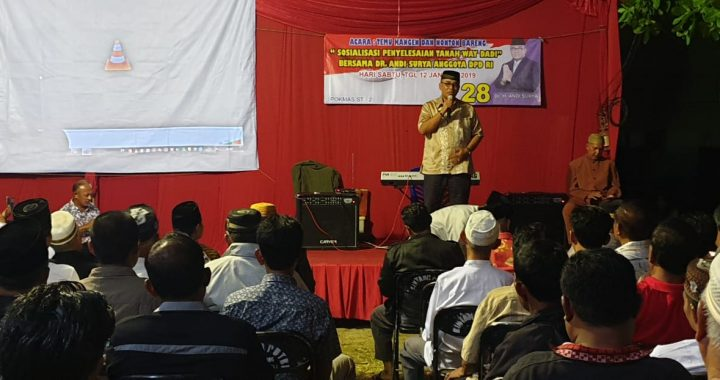 Andi Surya: Prosedur Pelepasan HPL Way Dadi Dikembalikan Kepada Negara