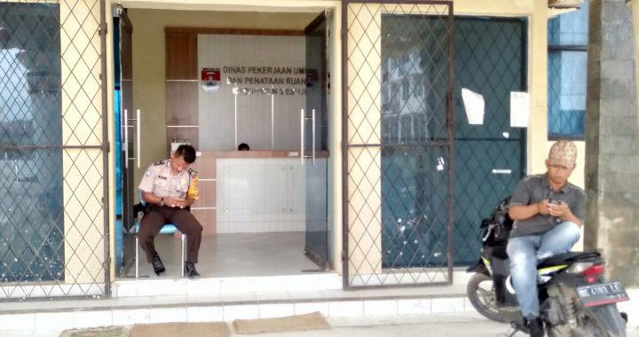 Pasca OTT KPK Terhadap Bupati Mesuji Kantor PU Kosong.