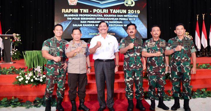 Menko Luhut Kepada Perwira TNI-POLRI : Ayo Bekerja Dengan Baik