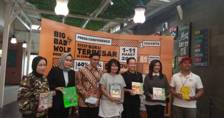 Big Bad Wolf Bazar Buku Terbesar di Dunia
