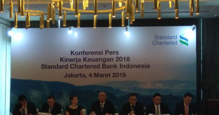 Standard Chartered Bank Bukukan Laba Bersih Naik 371% dan Kredit Sebesar 17% Tahun 2018