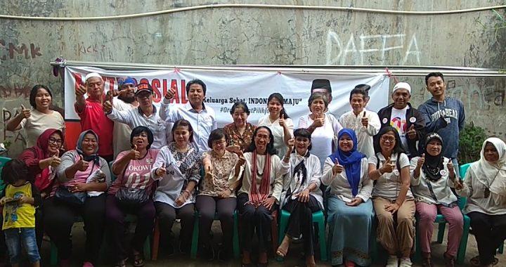 Yayasan Angela Kembali Gelar Baksos di Depok