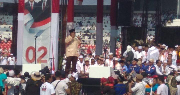 GBK Catat Sebagai Rekor Kampanye Politik Terbesar di Indonesia