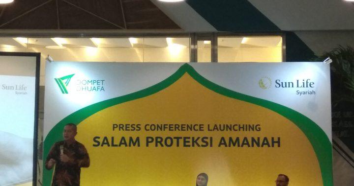 """Kolaborasi Dompet Dhuafa dan Sun Life Luncurkan Produk """" Salam Proteksi Amanah"""""""