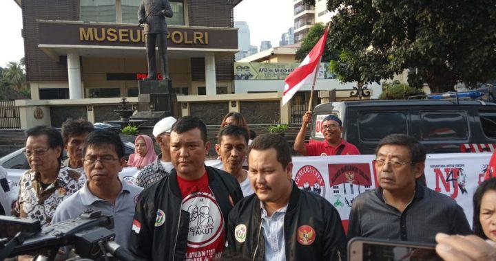 Aliansi Relawan Jokowi Lakukan Aksi Dukung Kinerja  Polri Tindak Tegas Pelaku Kerusuhan 21-22 Mei 2019