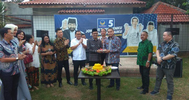 DPW Partai Nasdem DKI Jakarta Gelar Halal Bihalal