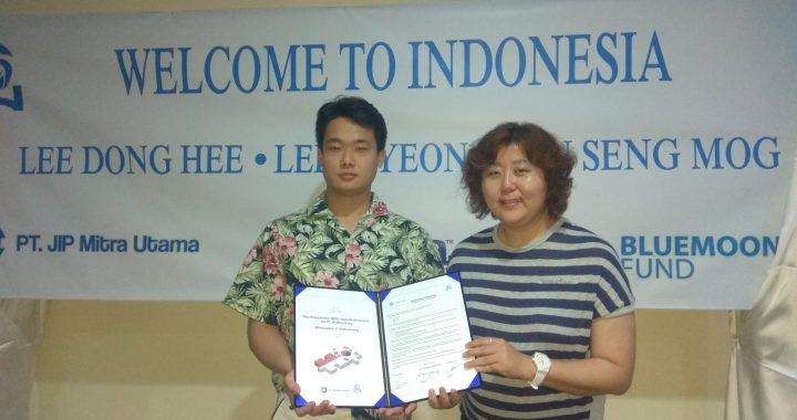 PT. JIP Mitra Utama Teken Kontrak dengan BLUEMOON FUND