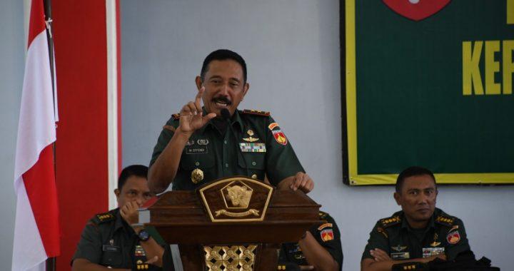 Pangdam IV Diponegoro Mayjen TNI Mochamad Effendi : Prajurit Itu Orang Pilihan Yang Terikat Sumpah