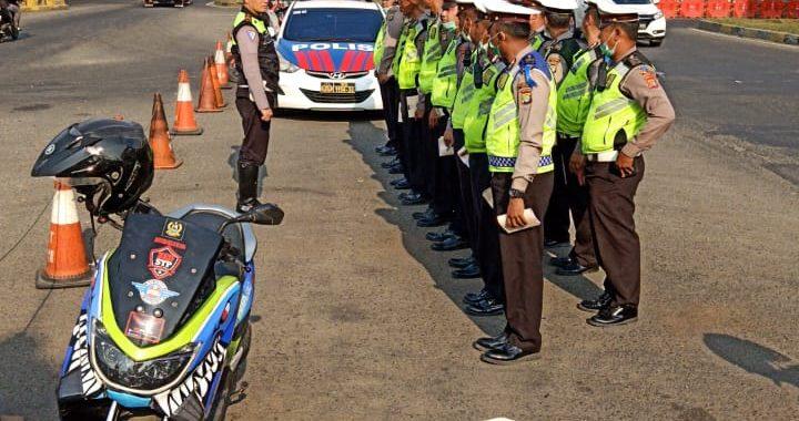 Polres Metro Bekasi Gelar Operasi Patuh Lalin 2019