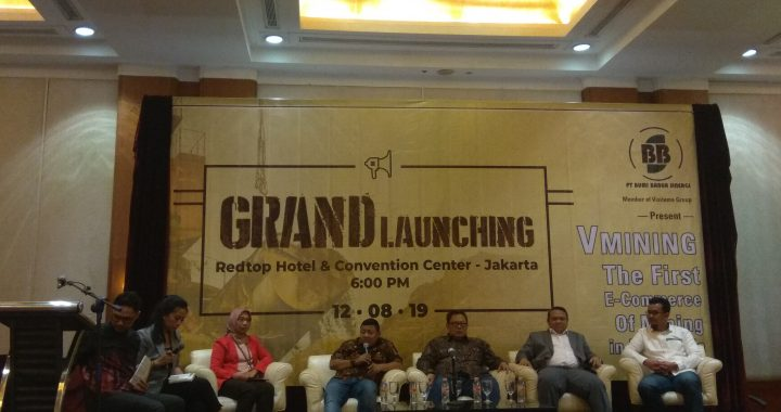 VMining, the First e-commerce of Mining in Indonesia