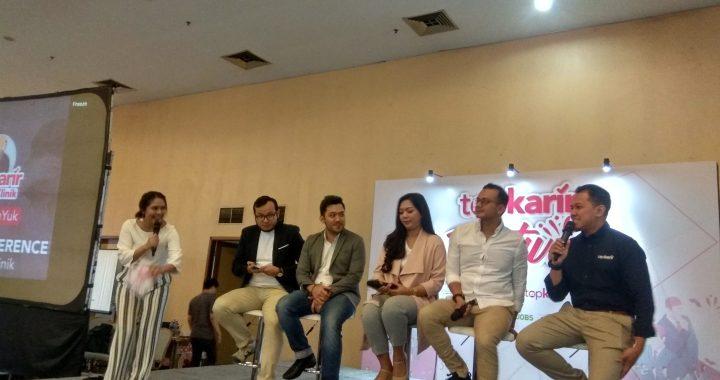 Top Karir Klinik Fitur Konstultasi Untuk Membantu Anak Muda Indonesia di TopKarir Festival 2019.