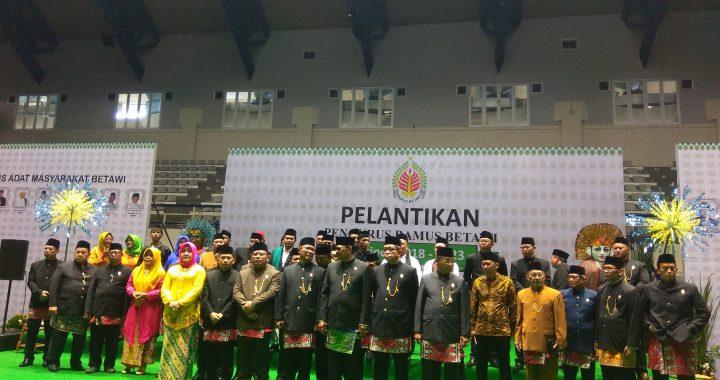 Pengurus BAMUS BETAWI Periode 2018-2023 di Lantik di Padepokan Pencak Silat TMII