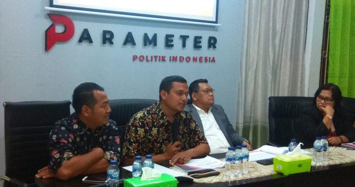 """Rilis Survei Nasional Parameter Politik Indonesia """"Evaluasi Kinerja Jokowi dan Harapan Publik di Periode Kedua"""