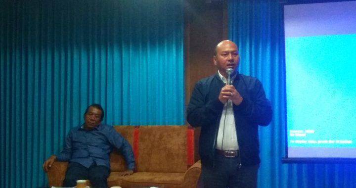 Bupati Tapanuli Utara Presentasi Dihadapan Forum Komunikasi PGM