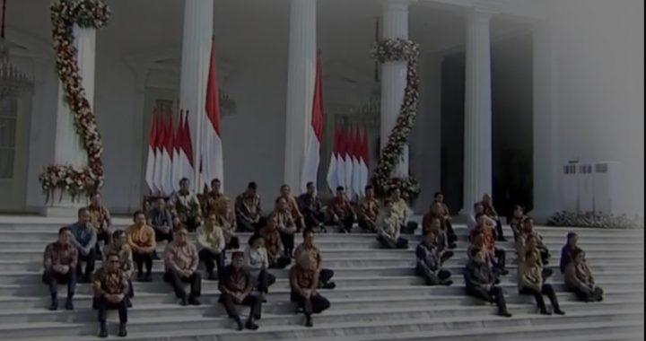 Jokowi Umumkan Susunan Kabinet Indonesia Maju, Ini Sejumlah Menteri Kejutan