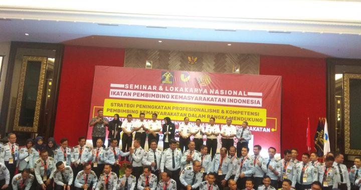 Sri Puguh Buka Seminar Ikatan Pembimbing Kemasyarakatan Indonesia