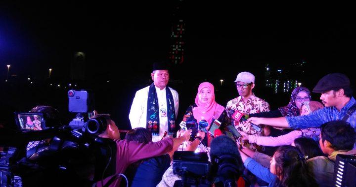 """Video Mapping National Monument Monas Week 2019 """"Menampilkan Filosofi Monas dan Wajah Jakarta Masa Kini Melalui Video Mapping"""""""
