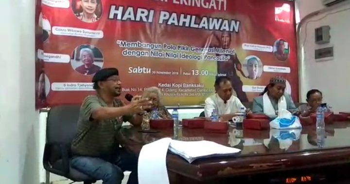 Persatuan Nusantara Maju (PNM) Gelar Diskusi Membangun Pola Pikir Generasi Milenial