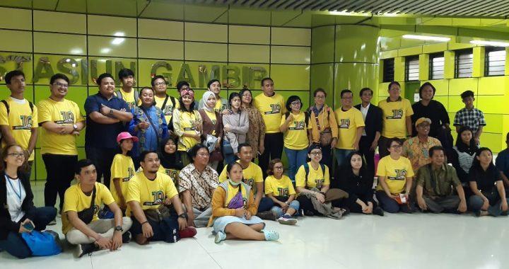 ICRP Lepas TIM Peace Train Indonesia ke -10.