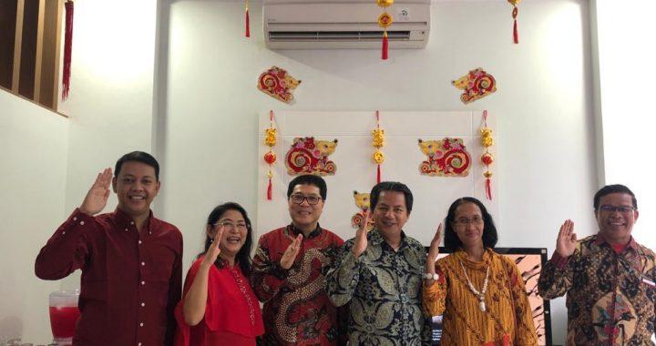 Pengurus DPP GPP Hadiri Open House Imlek di Kediaman Chandra Setiawan