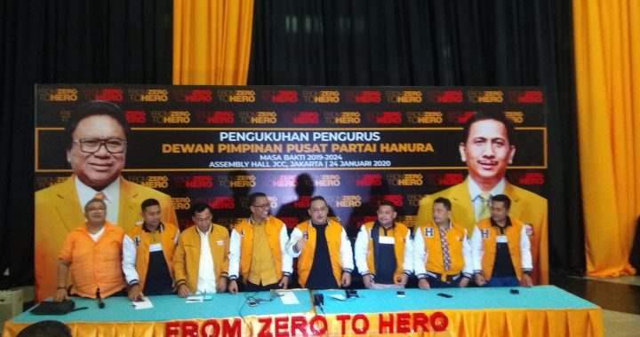 Pengurus DPP Partai Hanura Siap di Lantik