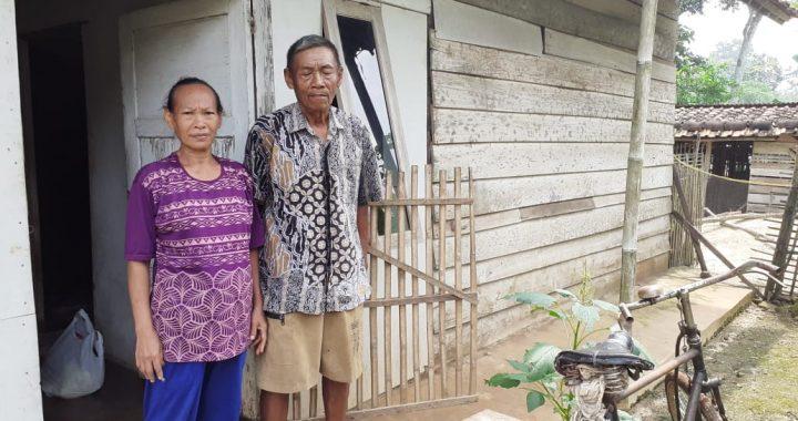 Kakek Tua Renta di Lampung Timur Butuh Bantuan