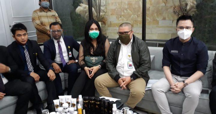 Razman Nasution Melaporkan Pencemaran Nama Baik Terhadap Klinik Kecantikan Bening