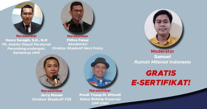 RUU Omnibuslaw Pendirian Koperasi 3 Orang, DPR RI Maunya 9 Orang