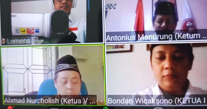 DPP GPP Gelar Rakor bersama DPD GPP Sumatera Utara via Aplikasi Zoom