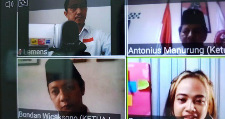 DPP GPP Gelar Rakor bersama DPD GPP Lampung via Aplikasi Zoom