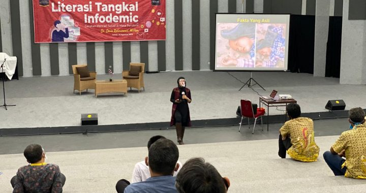 Literasi Tangkal  Infodemic di Tengah Pandemi Covid19