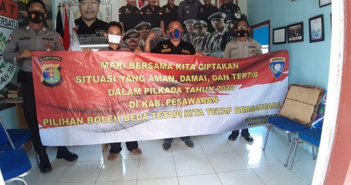 Jelang Pilkada Polres Pesawaran Jalin Silaturahmi Keseluruh Ormas dan LSM