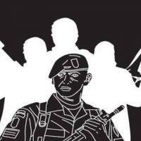 "Webinar ""Pelibatan TNI dalam Kontra Terorisme, Peluang dan Tantangan"""