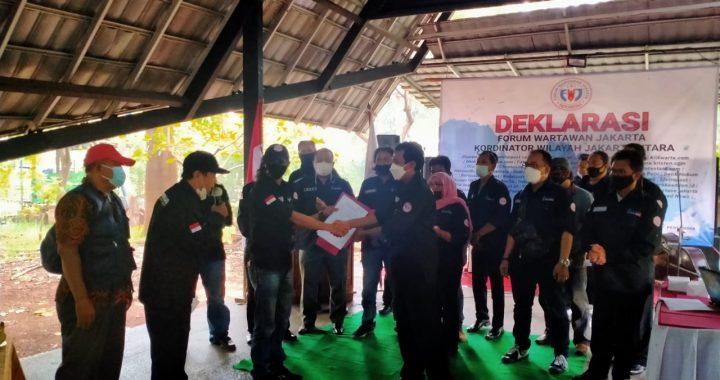 Pelantikan Dan Terima SK Mandat FWJ Korwil Jakarta Utara