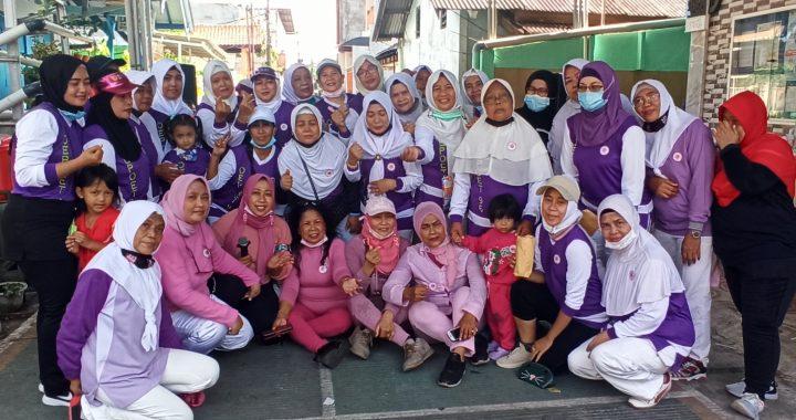 AWI Gelar Senam Bersama Warga Upaya Utara Kebon Bawang