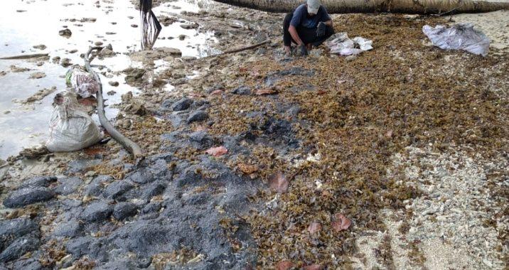 Ada kebocoran pipa kilang minyak lepas pantai milik PT. PHE OSES ONWJ