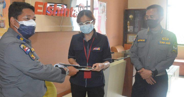 Kapendam Jaya Kunjungi Kantor Media Elshinta TV Di Kawasan Sudirman Jakarta