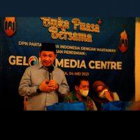 Partai GELORA  Dilengkapi dengan  Fasilitas Media Center untuk Semua Wartawan